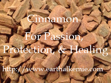 Cinnamon for Passion, Protection, and Healing